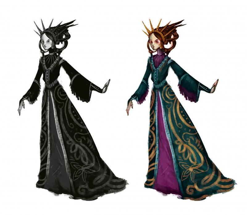 Concept księżniczki